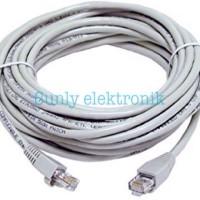 Kabel lan 1,5m tebal / cable utp network 1,5 meter / kabel lan ori