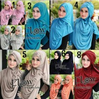 Jual New Hijab Syria Turban Syilla 2in1 Murah