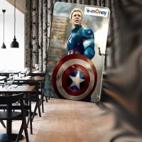 Jual eToll captain America edition Murah