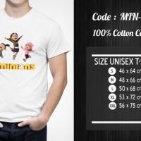 Jual  Kaos Minion  Kaos  Despicable Me  MIN007 T3009 Murah