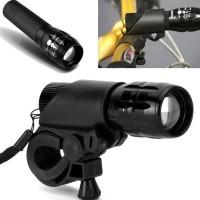 Jual Bracket Senter Handlebar Sepeda Flashlight Mount Limited Murah