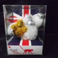 Kipling - Keychain - Royal Baby Monkey Gold