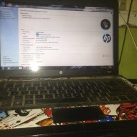 Laptop merk HP Core i3 2.30 Ghz