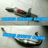 knalpot racing cream pie ninja RR,R,SS,RX KING