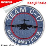 PATCH bordir Emblem Embroidery Patch - LOGO BORDIR - bet2 badge k3
