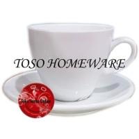 Jual Gelas Cangkir Kopi Teh Keramik / Tea Coffee Cup Ceramic, Cappucino Cup Murah