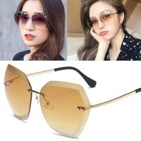 Jual Kacamata frameless edge-cutting sunglasses - OKT230 Murah