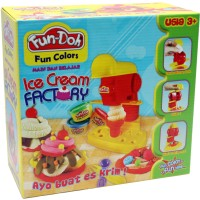 Jual Lilin Mainan Fun Doh Ice Cream Factory Terbaru Murah