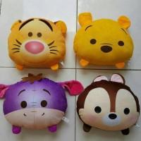 Jual Paket Bantal Tsum Pooh Bear(1paket dapat 4pis) Murah