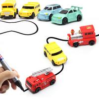 Jual INDUCTIVE CAR TANK TRUCK mainan edukasi mengikuti garis Murah