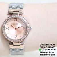 Jual Jam tangan bonia wanita rantai pesta tanggal aktif guess/fossil/hermes Murah