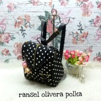 Harga harga murah tas lokal fashion 2fungsi olivera polka bag | WIKIPRICE INDONESIA