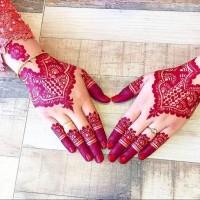 Jual CETAKAN Tangan Henna Nail art golecha Murah