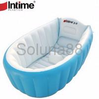Jual DISKON Paket Intime Baby Bath Tub Bak Mandi Bayi BONUS POMPA Murah