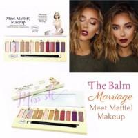 Jual The Balm Marriage Meet matte make up eyeshadow palette Murah
