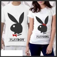 Playboy / Baju Couple Keren / Fashion Couple / Kaos Couple / C
