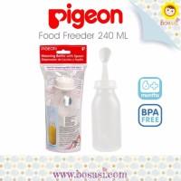 Jual DISCOUNT Pigeon Food Feeder Botol dengan Sendok 240ml PREMIUM Murah