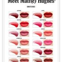 Jual [Eceran] THE BALM LIP MATTE HUGHES Long Lasting Liquid Lipstick Murah