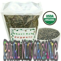 Jual [1Kg] Organic Black Chia Seed Mexico Murah