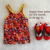 Jual TERMURAH baju renang anak cowok happy time swimsuit murah Murah