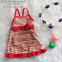 Jual PROMO baju renang anak cewek cute rainbow swimsuit Murah