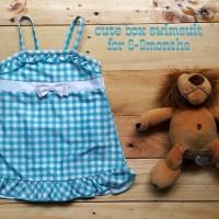 Jual TERMURAH jual baju renang anak cewek cute box swimsuit Murah