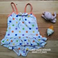 Jual PROMO baju renang anak cewek rainbow ballon swimsuit murah Murah