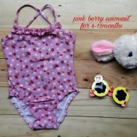 Jual TERMURAH jual baju renang anak cewek pink berry swimsuit Murah