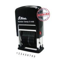 harga Stempel Nomor Otomatis Shiny S-449 Tokopedia.com