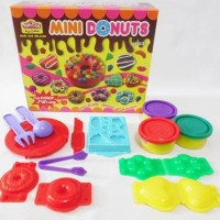 Jual Best Deal Lilin Mainan Fun Doh Mini Donuts Murah