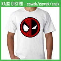 Jual Kaos Deadpool 68 QG92 Oblong Distro Murah