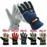 Sarung tangan windproof tahan dingin hangat / gloves mendaki gunung