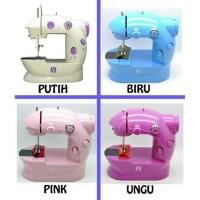 Jual JE Mesin Jahit Mini Portable Alfa JYSM-202 Lampu LED / Mini Sewing Mac Murah