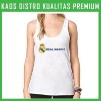 Kaos Tanktop Wanita Real Madrid 3 TKT-AFN56