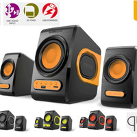 Jual Speaker Sonic Gear Quatro V - speaker + FM Radio USB Limited Murah