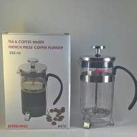 Jual Akebonno French Press Coffee Maker B470 350 ml for 3 Cups Murah
