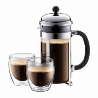 Jual Fiorenza French Press Coffee Maker 350 ml for 3 Cups Murah