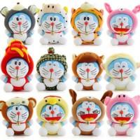 Jual Boneka rekam karakter doraemon zodiac shio doll toy recorded valentine Murah