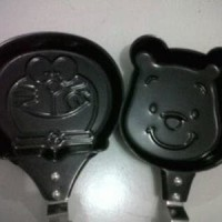 Jual Teflon Masak Motif Karakter hello Kity Doraemon Winnie the pooh resell Murah
