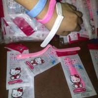 Jual Gelang anti nyamuk hello kitty wristband bugslock anti serangga kids a Murah