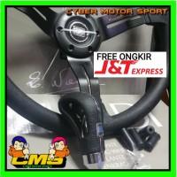 paket 2 in 1 paket Stir dan gear knob Racing Nardi tori Premium