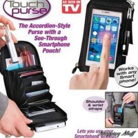 Jual LIMITED EDITION Touch Purse/Dompet Hp Serbaguna/ As Seen On Tv TERBARU Murah
