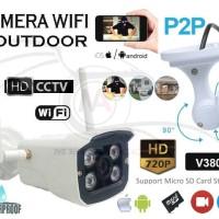 Cctv HD Wireless Wifi Outdoor Waterproof Camera Ip Network P2p 720P
