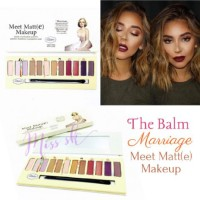 Jual Promo The Balm Marriage Meet matte make up eyeshadow palette Murah