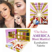 Jual Promo The Balm AMERICA MEET MATTE Eyeshadow Palette Murah