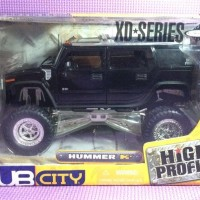 Hummer H2 (Black) Jada Dub City High Profile skala 1/24