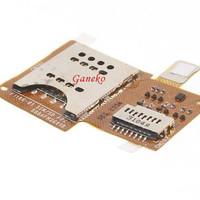 Flexible Konektor Simcard Memory Card Sony Xperia Miro ST23 ST23i
