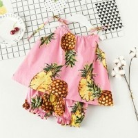 Jual DAPATKAN STOK TERBATAS Stelan Pineapple Baju Anak 0147 Murah