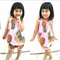 Jual DAPATKAN EXCLUSIVE Stelan Pineapple Baju Anak 0147 QKG Murah
