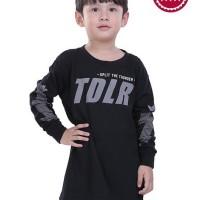 TDLR Kaos Anak Laki-Laki Hitam - T 0330
